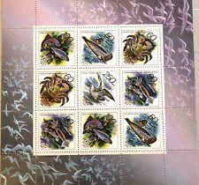 Russia rusia 1993 klb 323-27 6162a sea life animales marinos fauna Birds Fish mnh