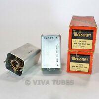 NOS NIB  Lot of 2 Meissner 14-1070 BC & SW Shielded Oscillator Coils 456 KC