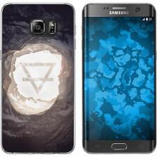 Case für Samsung Galaxy S7 Edge Silikon-Hülle Element M2 Cover