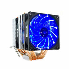 Dual Fan Cooler Radiator LED CPU Cooler 6 Heat Pipes for All AMD CPUS LGA 1150