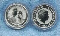 2013 $1 1oz Silver Kookaburra Pair of Birds ex Perth Mint Australia