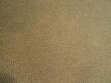 Richloom Bryant Smoke Faux Leather Vinyl Brown Upholstery Fabric Bty 310Fs