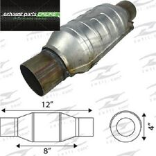 """CATALYTIC CONVERTER 2"""" UNIVERSAL EURO IV, 400 CELL, ROUND SMALL BODY"""