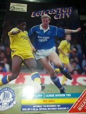 Leicester City v Millwall, 1991-92