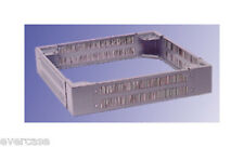 19inch cabinet plinth. With ventilation holes. 117 x 600 x 800mm. 324.68.01
