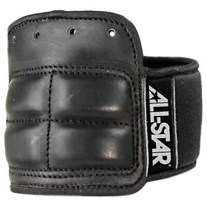 All-Star Pro Lace-On Catcher's Wrist Guard - Small