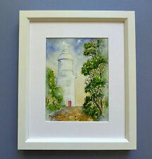 "Original Framed Watercolour ""The Cape Naturaliste Lighthouse"" Western Australia."