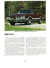 1969 Oldsmobile 442 W-30 Article - Must See !!