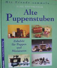 Alte Puppenstuben Puppenhäuser Puppen Zubehör Einrichtung Möbel Buch Deu/Engl.