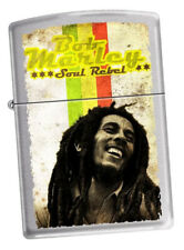 Zippo Lighter ● Bob Marley Soul Rebel ● Neu New OVP ● B509