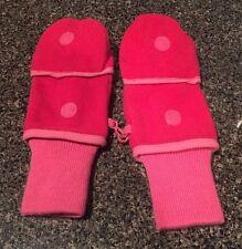 Gap kids Girls Sz 10 Pink Fingerless Mittens