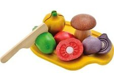 Plan Toys - Assorted Vegetable Set NEW * child pretend wooden food play tomato++