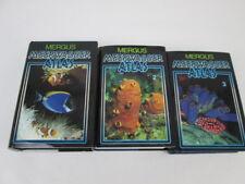 Mergus Meerwasseratlas Band 1-3. Hans A. Baensch, Melle 1992-1995.