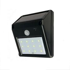 NEW - 12 LED Solar Power PIR Motion Sensor Outdoor Wall Light - Waterproof