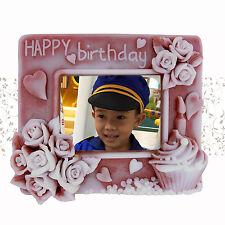 Happy Birthday Day Photo Frame - 2d handmade custom soap
