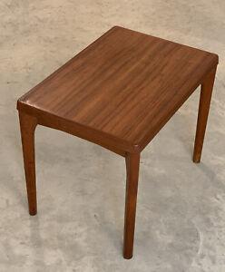Vintage MCM Danish Teak Side Table by Henning Kjærnulf for Vejle Mobelfabrik