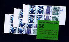 ★★★☆  BERLIN  ★☆★  MH 14  - drei postfrische Heftchen  ☆★★★