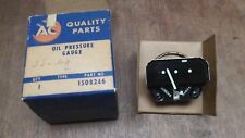 NOS GM 55-65 CHEVY TRUCK SERIES 3 COMMERCIAL UTILITY DD OIL PRESSURE GAUGE 10-80