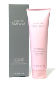 Mary Kay TimeWise Age Minimize 3D 4-in-1 Cleanser- Combo to Oily Skin