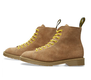 Dr. Martens NEW LES Off White Desert Oasis Sand Suede Boot Lace US 9M or11M $375