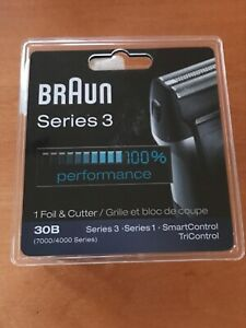 Braun 4700FC/7000FC/30B Shaver Replacement Foil &Cutter Stainless Steel NEW
