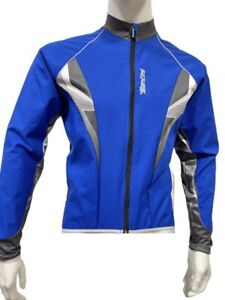 Santini Radical Winter Cycling Jacket in Blue - Size XL - Made in Italy
