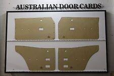 Ford TC, TD MK3 Cortina Sedan, Wagon Door Cards. Blank Trim Panels