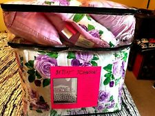 "Betsey Johnson King Size Comforter Bonus Set NWT "" Rare One """