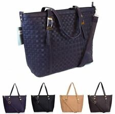 Unbranded Check Handbags with Inner Pockets