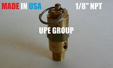 "1/8"" Air Compressor SAFETY RELIEF POP OFF VALVE 150 psi"