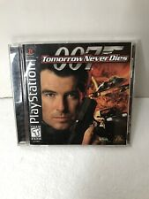 007 Tomorrow Never Dies  (Sony Playstation 1 ps1) Complete With Manual -  Tested