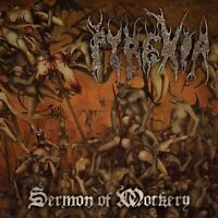 PYREXIA - SERMON OF MOCKERY (LIMITED EDITION)  CD NEW+