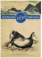 AD232) Australia 2010 Australian Territories Collection Christ. Cocos AAT MUH