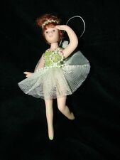 Porcelain Ballerina Doll Christmas Ornament - Gift