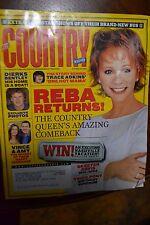 COUNTRY WEEKLY MAGAZINE OCTOBER 26 2004 REBA RETURNS! DIERKS BENTLY SKEETERDAVIS