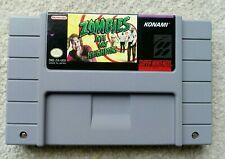 Zombies Ate My Neighbors SNES EE. UU. NTSC Carro