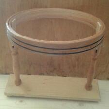Telaio Cerchietto  da ricamo in legno