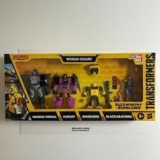 Transformers War for Cybertron Buzzworthy Bumblebee Worlds Collide New Sealed