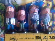 Funko Duck Dynasty Mini Wacky Wobbler Bobbleheads - Set of 4 2014 - Uncle Si Etc