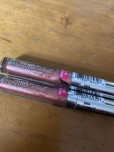 TWO Wet n Wild Megalast Liquid Catsuit Metallic Eyeshadow You Copper Cat 580A