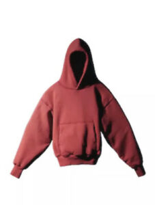IN HAND YEEZY GAP Hoodie Size sz L large Red