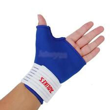 Pair Thumb Stabiliser Wrap Wrist Hand Palm Splint Support Gloves Brace Gym Sport