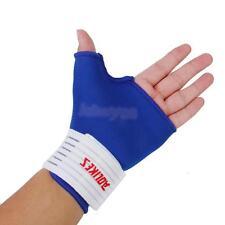 Pair Thumb Stabiliser Wrap Wrist Hand Palm Splint Support Gloves Brace Gym Sport
