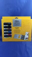 Winsor & Newton Galeria Acrylic Tips and Techniques Set NIB and ready to ship!