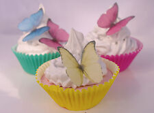 Butterfly Cake Decoration Princess 20pc Rainbow Rice Paper Birthday Party Edible