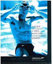 PUBLICITE 1998      SPEEDO  maillots de bains