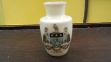 MODEL  OF A VASE BY CARLTON WARE  [W &R] CRESTED LEEDS