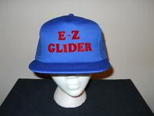 Vtg MINT-E-Z Glider advertising hat/cap-1970s/80s - plane, exercise EZ