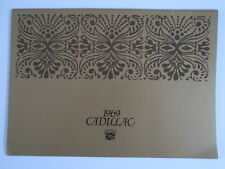 CADILLAC 1969 Range Huge Prestige Brochure - Eldorado Seventy Five Limousine