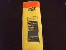 CAT CATERPILLAR D5M TRACTOR DOZER SERVICE SHOP REPAIR MANUAL S/N 3DR 4BR